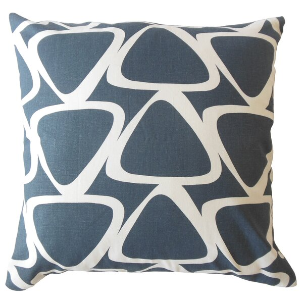 Ann Geometric Down Filled 100% Cotton Lumbar Pillow by Corrigan Studio